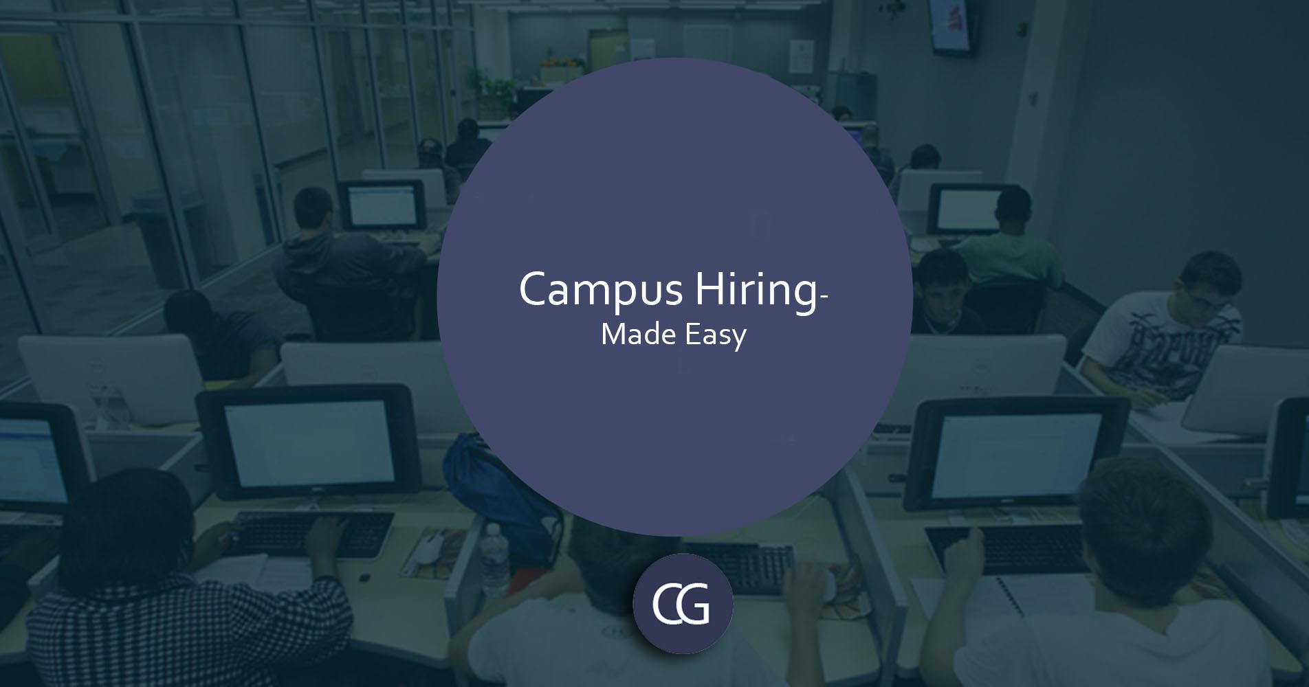 Campus Hiring- Online Assessment
