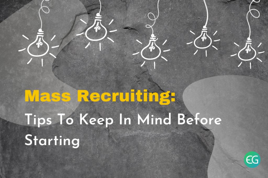 Mass Recruiting