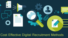 What are the most cost effective digital recruitment methods for Recruiting Top Talent?