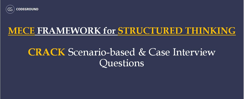mece framework for structured thinking