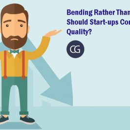 Bending Rather Than Breaking: Should Start-ups Compromise On Quality?