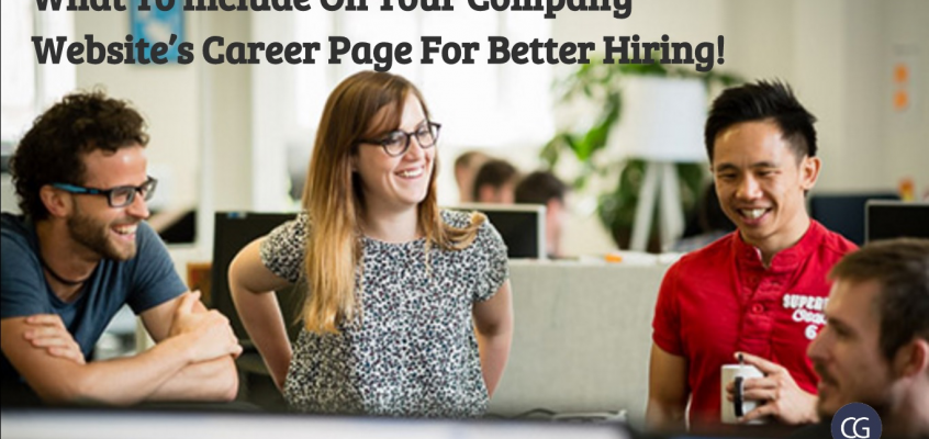 What To Include On Your Company Website's Career Page For Better Hiring