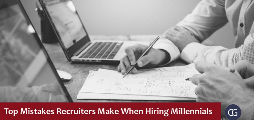 Top Mistakes Recruiters Make When Hiring Millennials