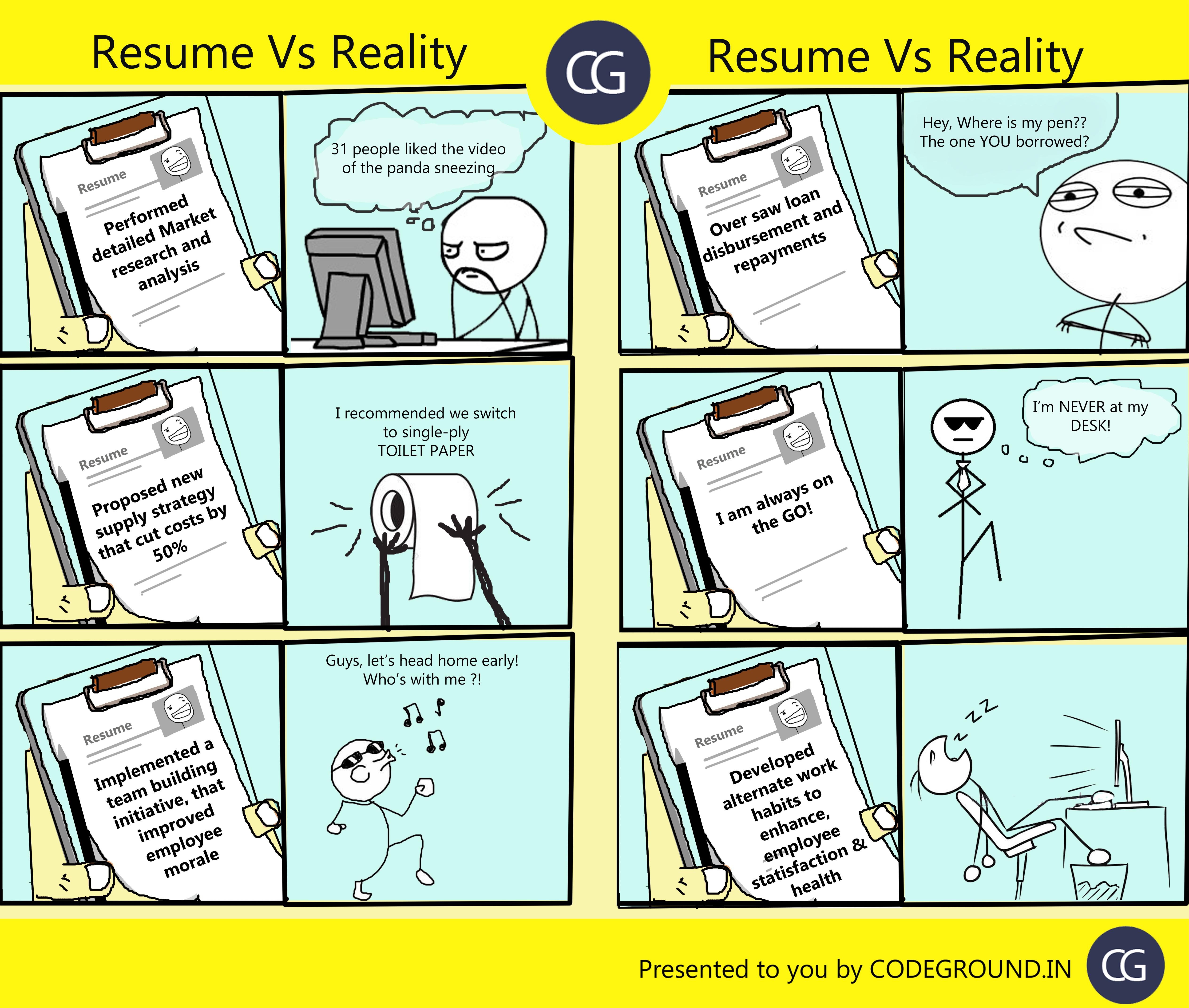 resume-vs-reality