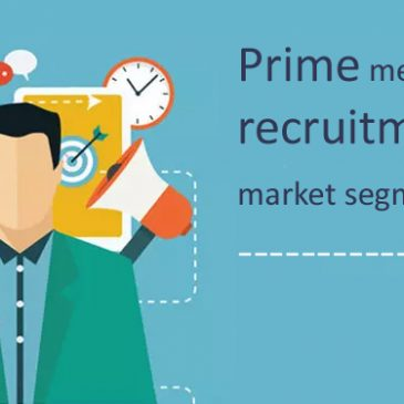 Prime methods for recruitment market segmentation