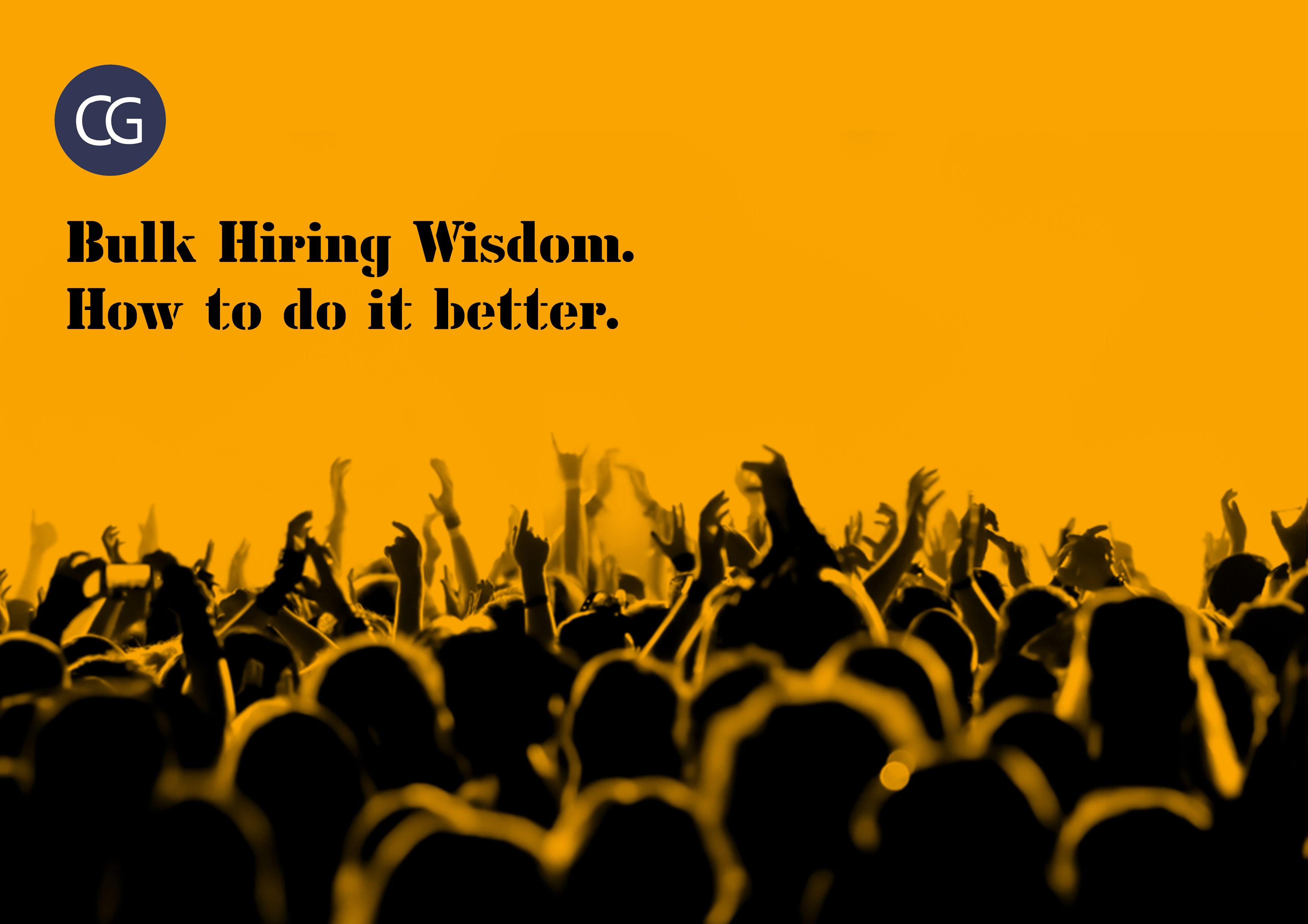 Bulk Hiring strategies