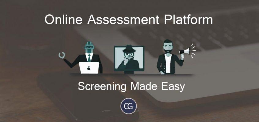 Online assessment platform- Screening Made Easy