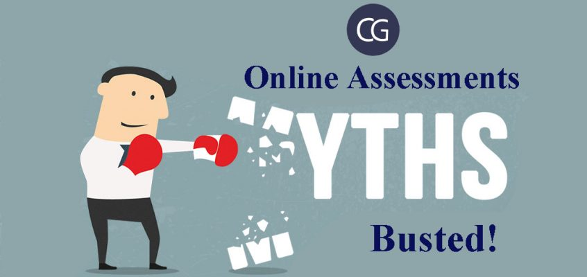 Online assessments myths- BUSTED
