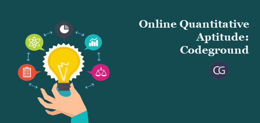 Online Quantitative Aptitude: Codeground