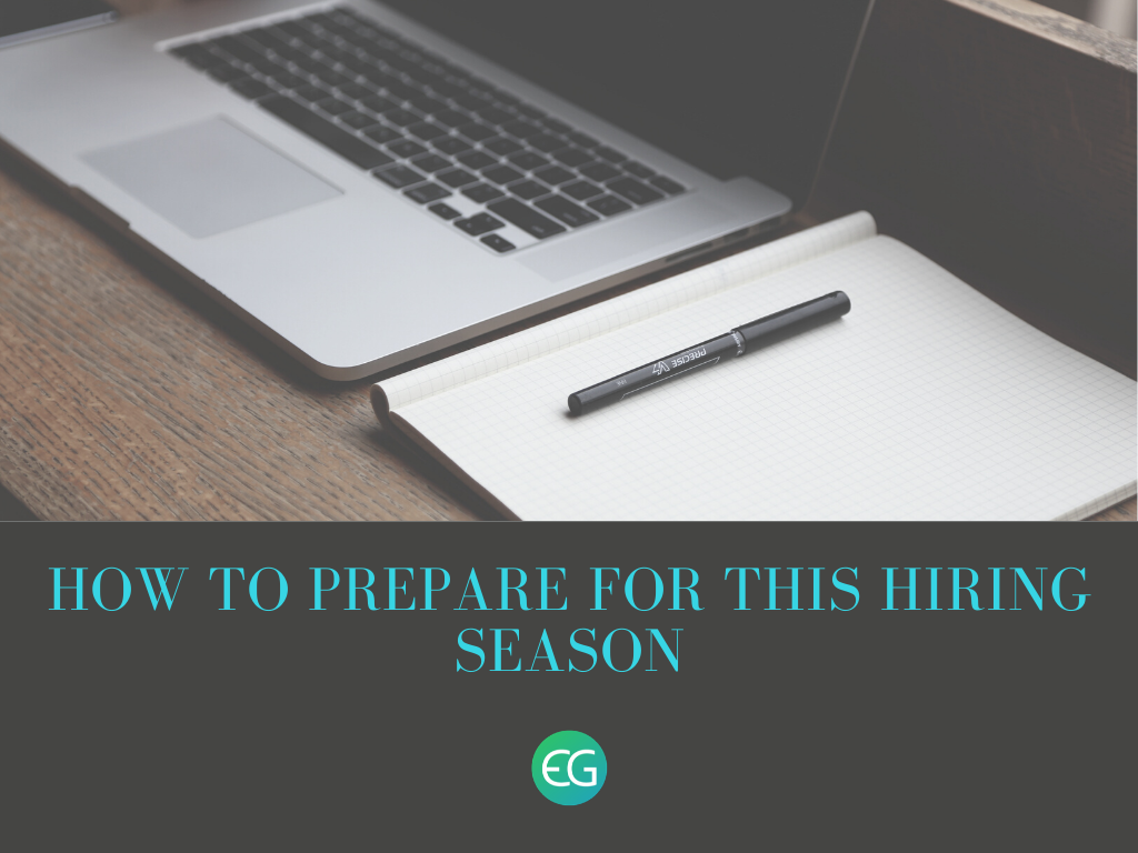 How to prepare for this hiring season