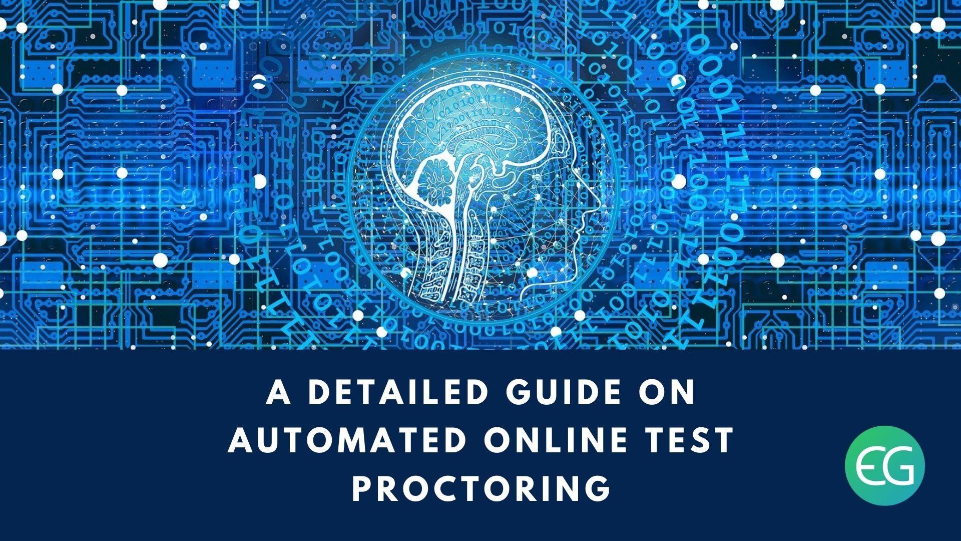 Automated online test proctoring
