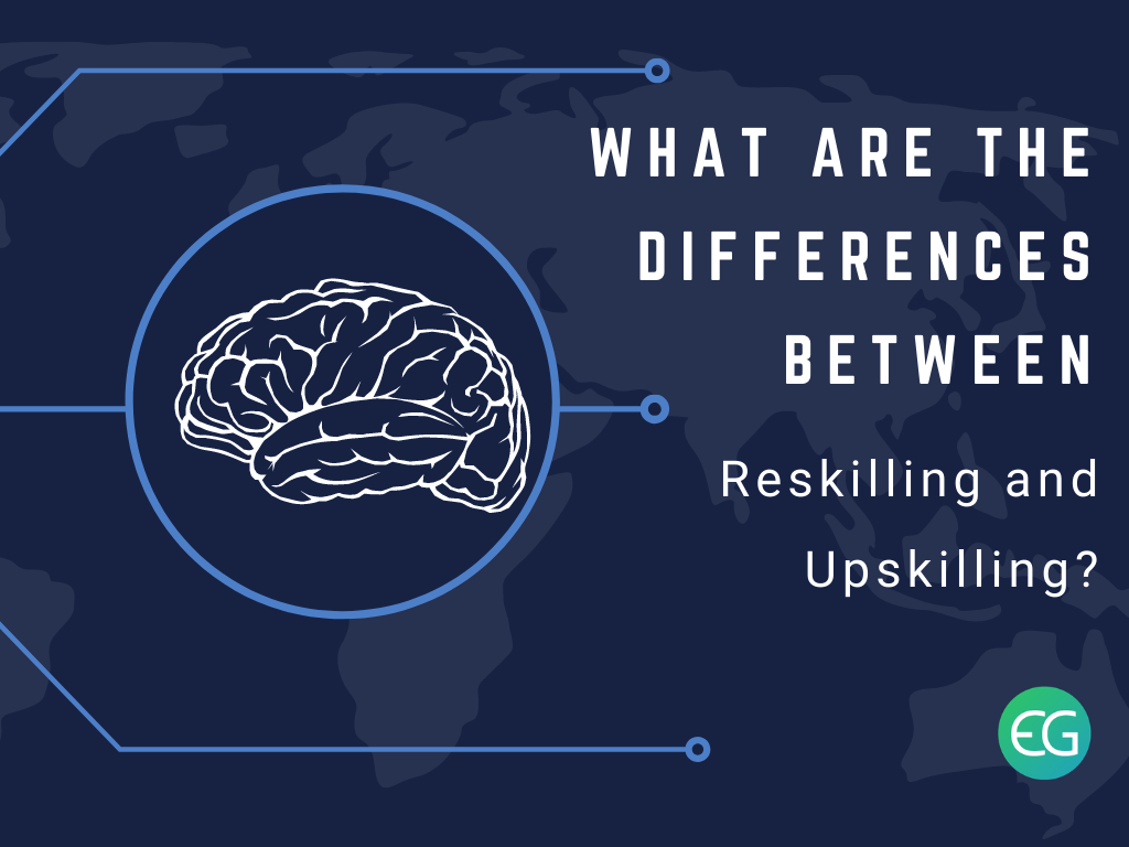 Differences between Reskilling and Upskilling